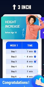 Height Increase – Increase Height Workout, Taller MOD APK V1.0.16 – (Ads-Free) 5
