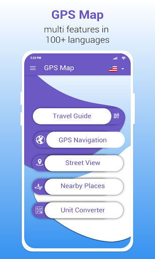GPS Map Route Traffic Navigation  screenshots 1