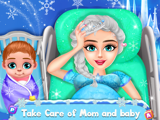 Ice Princess Pregnant Mom and Baby Care Games 0.16 Screenshots 1