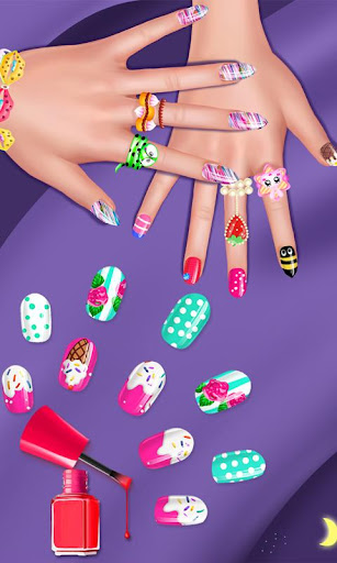 Nail Salon - Girls Nail Design 1.2 Screenshots 5