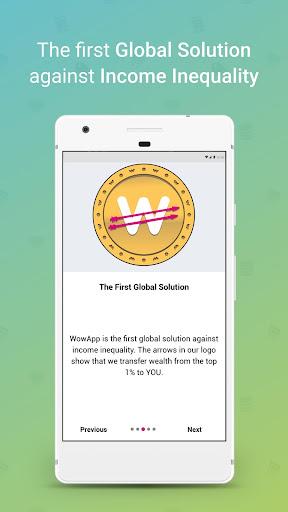 WowApp - Earn. Share. Do Good 78.0.1 Screenshots 1
