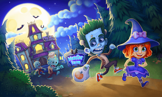 Monster Farm: Happy Halloween in der Geisterstadt Screenshot