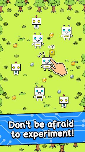 Robot Evolution - Clicker Game  screenshots 2