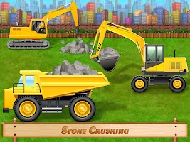 City Construction Vehicles - House Building Games