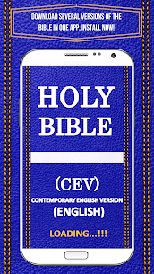 Bible CEV – Contemporary English Version Free 1.3 APK Mod for Android 2