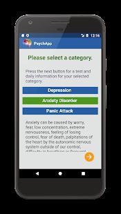 PsychApp – Depression, Anxiety, Panic Attack