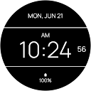 Black Max Watch Face