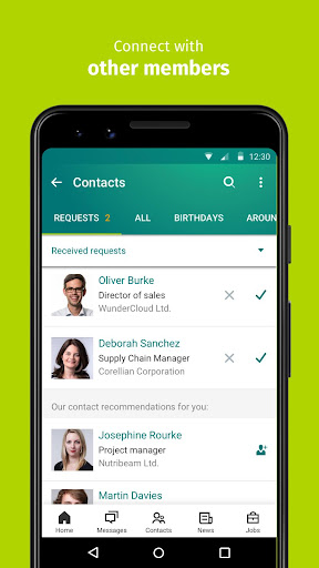XING u2013 Your jobs and careers network 10.28.0l Screenshots 5