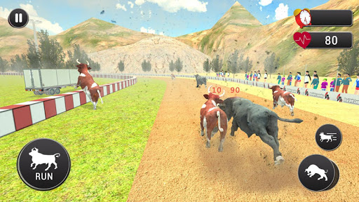 Angry Bull Attack u2013 Cowboy Racing 1.3 screenshots 5