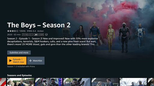 Prime Video - Android TV screenshots 3