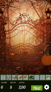 Hidden Object Game: Autumn Holiday