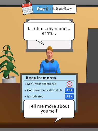 Hiring Job 3D 0.1.1 screenshots 6