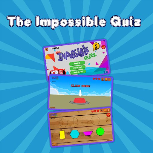 The Impossible Quiz - Genius & Tricky Trivia Game 99.1 Screenshots 1