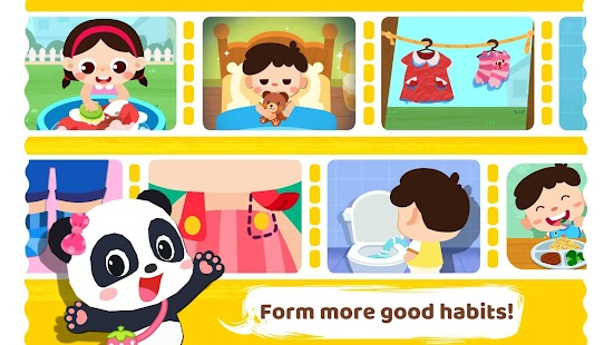 Baby Panda Care: Daily Habits Screenshot