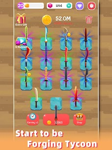 Merge Sword — Idle Blacksmith Master Mod Apk (Unlimited Gold) 1.3.5 10