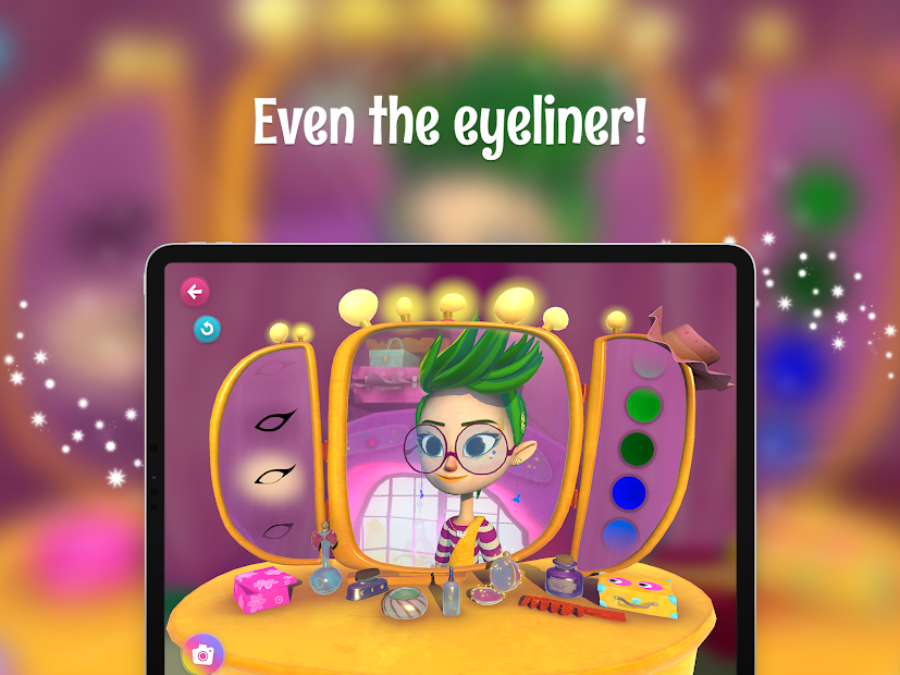 FairyTeens. Beauty Salon screenshot 21