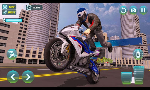 City Bike Driving Simulator-Real Motorcycle Driver screenshots 3
