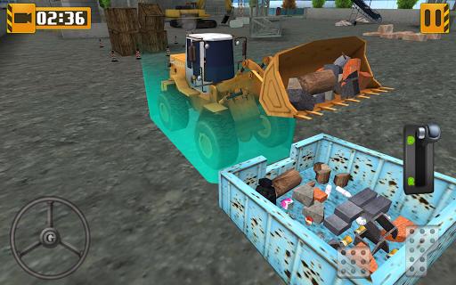 heavy equipment loader simulator screenshot 3