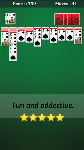 Spider Solitaire 1.7.5 pic 2