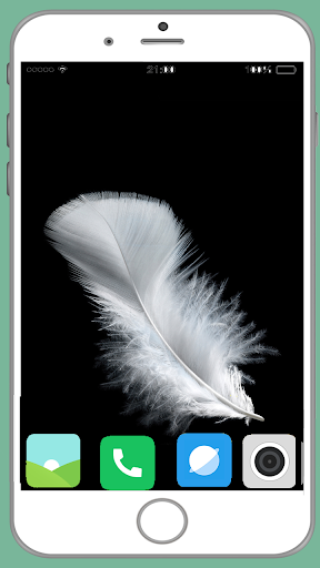 feather full hd wallpaper screenshot 1