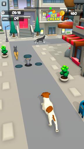 Dog Run - Fun Race 3D apktreat screenshots 1