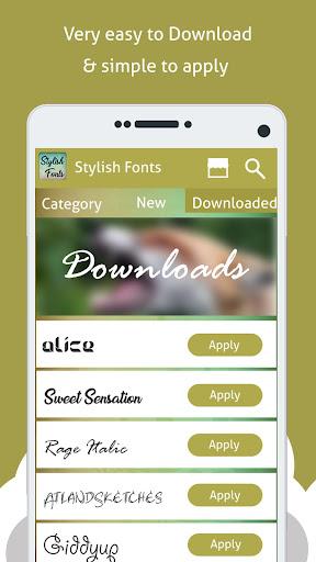 Stylish Fonts Free  Screenshots 3