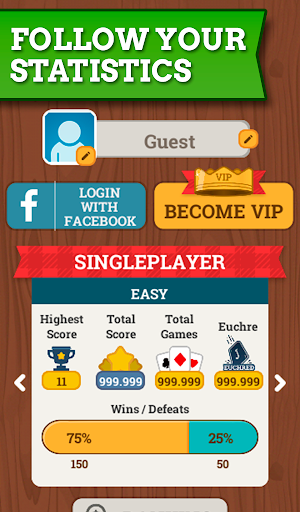 Euchre Free: Classic Card Games For Addict Players 3.7.8 screenshots 10