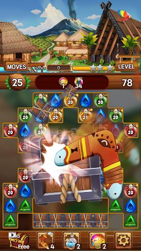 Island of Jewels: Aloha ! Match3 puzzle  screenshots 6