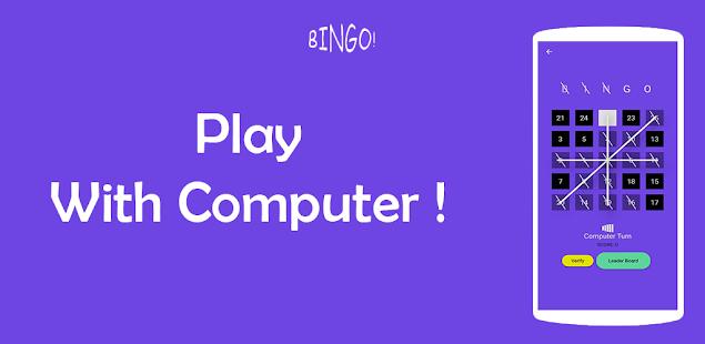 Bingo - A simple Board Game | Online or Offline !
