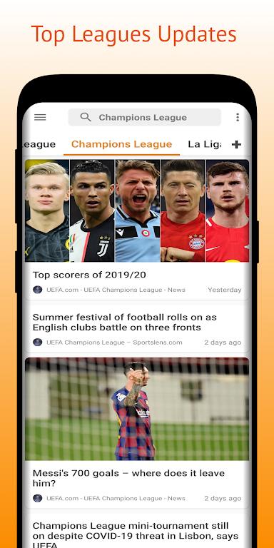 Football Pro: Soccer Scores, Football News, Videos  poster 5