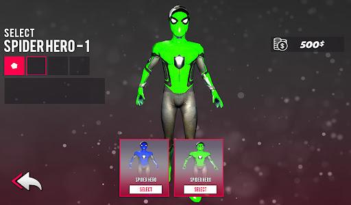Spider hero game - mutant rope man fighting games  screenshots 9