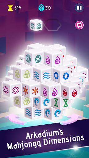 Mahjongg Dimensions: Arkadiumu2019s 3D Puzzle Mahjong 1.2.14 screenshots 2