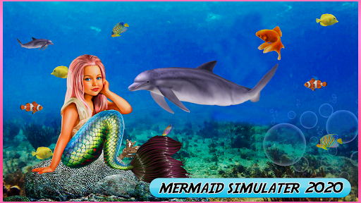 Mermaid simulator 3d game - Mermaid games 2020 2.5 screenshots 2
