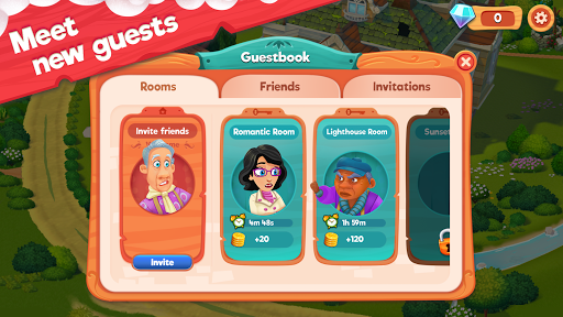 Delicious B&B: Match 3 game & Interactive story 1.15.6 screenshots 6