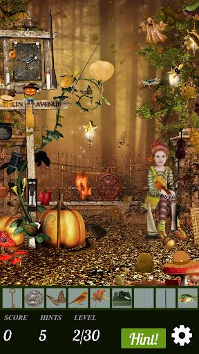 hidden object free - merry halloween screenshot 1