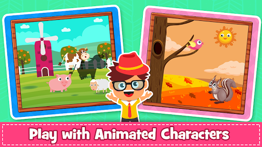 Animal Puzzle for kids - Preschool Learning Games  screenshots 4