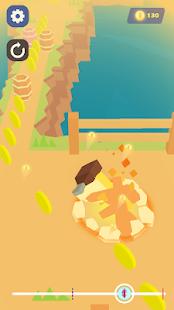 Schermata capovolgi salsiccia