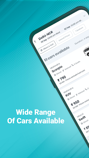Revv App - Self Drive Car Rental Services in India android2mod screenshots 2