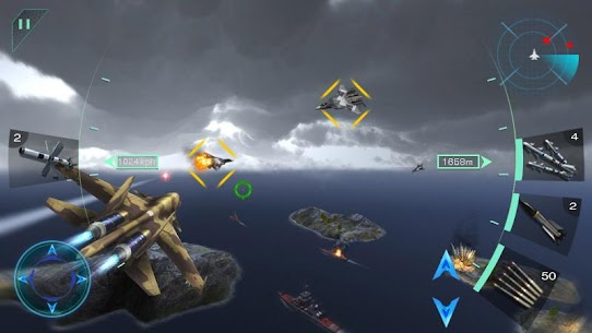 Download Sky Fighters 3D MOD APK 1.5 [Money/Free Shopping] 4