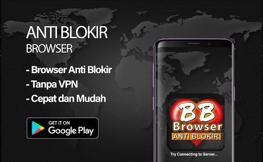 BF-Brokep Browser Anti Blokir - VPN Browser  Screenshots 1
