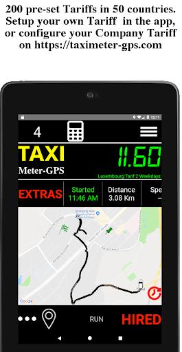 Taximeter-GPS Driver 5.1.0.12 screenshots 2