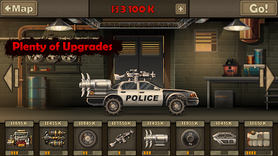 Earn to Die 2 MOD APK (unlimited money/all cars unblocked) 4