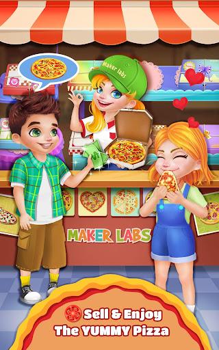 sweet pizza shop - cooking fun screenshot 2