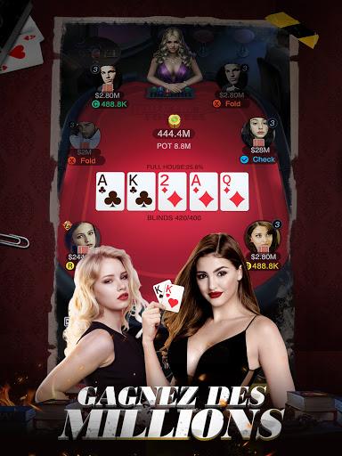 Code Triche Holdem or Foldem - Poker Texas Holdem (Astuce) APK MOD screenshots 4