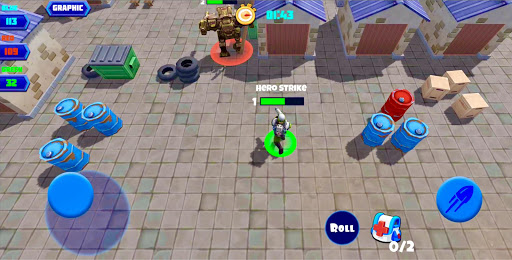 Heroes Strike PvP: MOBA and Battle Royale modavailable screenshots 2