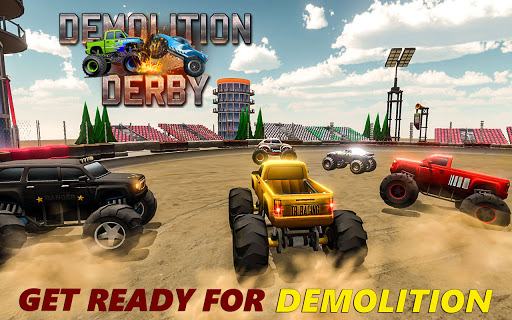 Demolition Derby 2021 - Monster Truck Destroyer modavailable screenshots 12