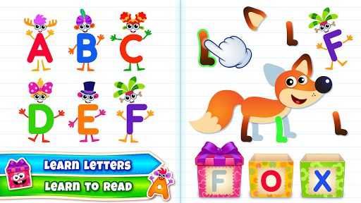 Baby ABC in box! Kids alphabet games for toddlers! 3.3.3.2 screenshots 3