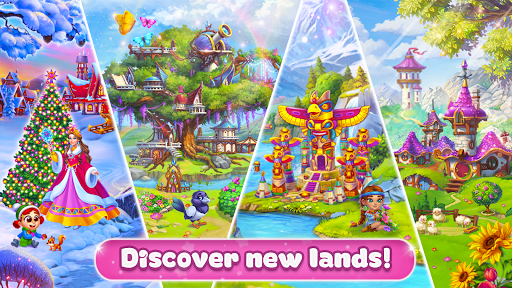Magic Seasons - build and craft game apktram screenshots 2