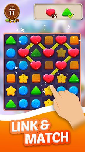 cookie crunch: link match puzzle screenshot 3