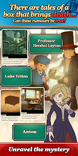 Layton: Pandora's Box in HD 1.0.1 MOD for Android 2